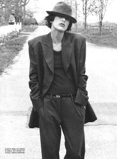 Milla Jovovich photographed by Bob Richardson for Vogue Italia, November 1997