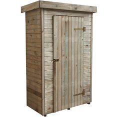 Armoire de rangement en bois Santiago - Jardin piscine