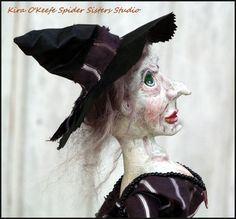Halloween Witch Turns Mouse into a by SpiderSistersStudio on Etsy