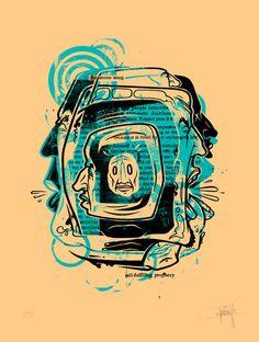 """Paradox II"" Art Prints by Dave Kinsey"