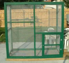 How to guide to building an aviary. - Talk Budgies Forums #buildaviary #howtobuildanaviary