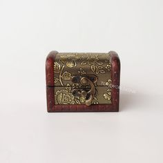 "1:6 Scale Treasure Box Gold Classical Mini Toys For 12/"" Action Figure Decoration"