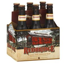The 10 Best Truly Gluten-Free Beers on the Market Today: Redbridge Beer Gluten Free Liquor, Gluten Free Drinks, Gluten Free Alcohol, Gluten Free Beer, Gluten Free Treats, Dairy Free Recipes, Gf Recipes, Smoothie Drinks, Shopping