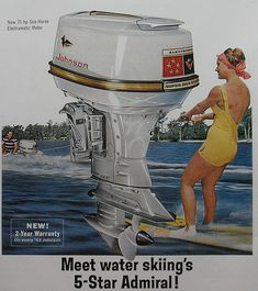 Johnson motors! waterski vintage - Google Search