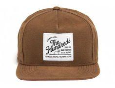 Tide Snapback Cap by THE HUNDREDS