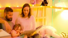 Campfire  Children's books come to life with speakers & smart lights