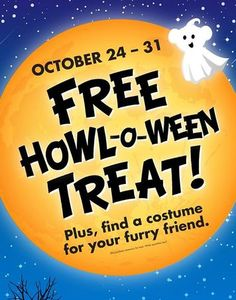 Pick up a FREE Halloween Treat at Build-A-Bear on October 24-31