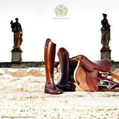 Alberto Fasciani Horse Riding Boots Entirely handmade in Italy