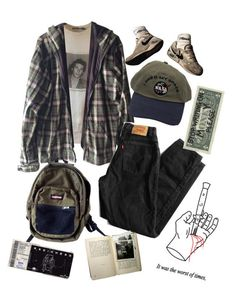 Grunge Outfits, Edgy Outfits, Retro Outfits, Cute Casual Outfits, Vintage Outfits, Fashion Outfits, Flannel Outfits, Hipster Outfits, 70s Fashion