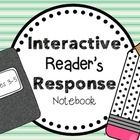 This is an interactive reading notebook that contains handouts for students to use when keeping a reading response journal/notebook.  There are als...