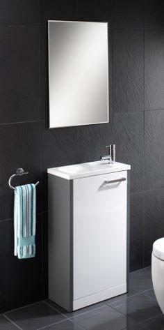 Cloakroom Basins : Solo Vanity Unit