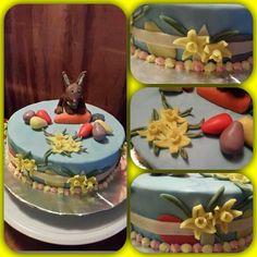Påsktårta #påsk #easter #magiccakes #älskartårtor #takemetocakeheaven #cake #cakes #tårta #tårtor #lovetobake #hembakat