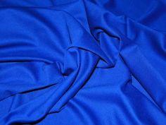 Ponte Roma Heavy Stretch Jersey Dress Fabric Royal Blue | Fabric | Dress Fabrics | Minerva Crafts