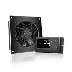 AIRTITAN Crawl Space and Basement Ventilation Fan Temperature and Humidity Controller, Rated Basement Ventilation, Smart Program, Garage Attic, Installation Manual, Grow Tent, Temperature And Humidity, Heat Pump, Hydroponics, Fan