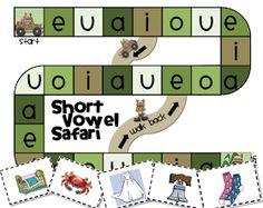 Extra Special Teaching: Short Vowel Safari