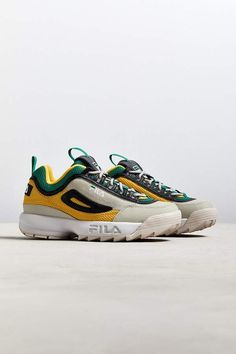 Sneakers fila clothing 25 Ideas for 2019 Sneakers Looks, Cute Sneakers, New Sneakers, Girls Sneakers, Sneakers Fashion, Sneakers Adidas, Fila Disruptors, Luxury Shoes, Swagg