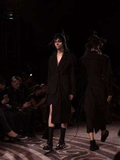 Yohji Yamamoto SS17 PFW Womenswear Dazed