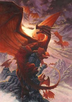 Red Dragon ~ by Ralph Horsley