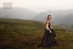 SOME ENCHANTED EVENING  UK Harper's Bazaar, December 2012  ph. Yelena Yemchuk  model: Josephine Skriver  stylist: Cathy Kasterine