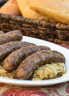 how to cook polish sausage in beer