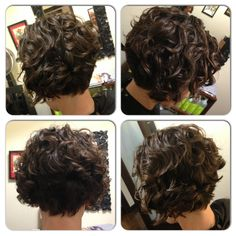 My work. Short, sassy, cute, fun! Embrace your natural curls! ;-) www.curlsbycass.com
