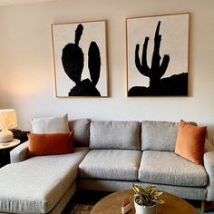 Set of 2 cactus Painting Large Canvas Wall Art Set of 2 | Etsy Flower Painting Canvas, Large Painting, Texture Painting, Cactus Painting, Large Canvas Wall Art, Canvas Art, Abstract Landscape Painting, Abstract Art, Cactus Wall Art