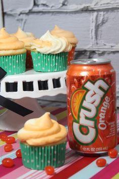 Orange Crush Soda Cupcake Recipe