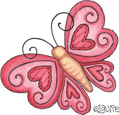 Doodle Drawings, Easy Drawings, Doodle Art, Applique Patterns, Quilt Patterns, Fabric Painting, Painting & Drawing, Butterfly Art, Butterflies