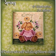 Spring e-Pattern - Elisabetta DeMaria - PDF DOWNLOAD