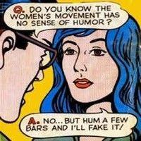 women womens life feminist jokes prove have sense humour