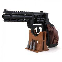 Colt Magnum Handgun - Lego Compatible
