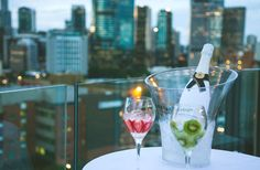 The eagle has landed in Brisbane, folks, bringing with it Moet Ice Imperial—the first Champagne to be poured over ice—killer panoramic CBD views, live music, and a swanky new rooftop bar setting from which to enjoy it all.