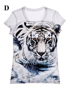 5a248756ab Items similar to Woman extra-large extended adult big and plus size white  Tiger printed tank top and tshirt by hellominky (sublimation)XXS-3XL(11) on  Etsy