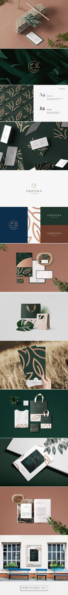Ekoteka | Organic Products Dealer on Behance... - a grouped images picture - Pin Them All