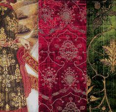 16th century Italian silk velvets
