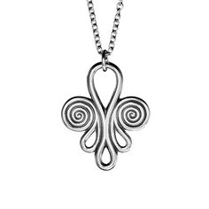 """""""The Nokia jewelry"""" by Finnish jewelry company Kalevala Koru. A pure Finnish type of ancient jewelry, in Finnish named as """"chain bearers"""". The original jewelry was found in the Nokia region, The oldest chain bearers are from the 11th century and supposed to be founded in west of Finland, but also appeared in the Karelian crusade times."""