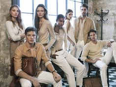 "Massimo Dutti | Spring Summer '15 Limited Collection Introducing The Massimo Dutti 689 5th Avenue Limited SS""15 Collection starring Jon Kortajarena, Valery Kaufman, Shaun De Wet, Anna Jagodzinska, Florian Van Bael, Melodie Nonrose & Alice Tubilewicz"