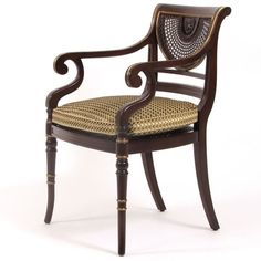 Thomas Sheraton (1751-1806) Chair | ArtisticFrame.com. Neoclasicismo inglés.