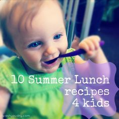 10 Summer Lunch Recipes 4 Kids