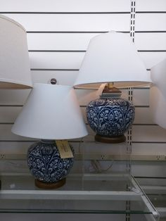 Ralph Lauren Lamps Home Goods Ralph Lauren Home Living Room, Blue And White  Lamp,