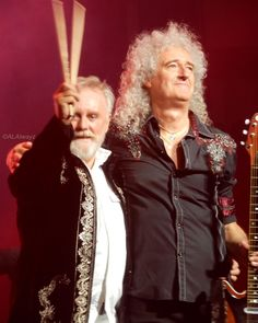@alalwayz「#rockroyalty #rogertaylor @brianmayforreal #qaldallas #queenadamlambert #brianmay…」