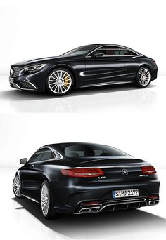 2015 Mercedes-Benz S65 AMG Coupe Basically, it's 186-miles-per-hour of luxury. Just unveiled, the all-new 2015 S65 AMG Coupe looks very similar to the (also pretty new) S63 but features an icier chrome grill, yellow brake calipers, & a different style of 20-inch wheels. The 6-liter V12 puts out 621 horses controlled by a 7-speed AMG Speedshift.