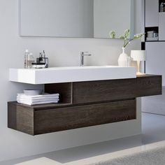 Awesome Modern Bathroom Furniture with Best 25 Bathroom Furniture Ideas on Home Decor Furniture Yellow Bad Inspiration, Bathroom Inspiration, Modern Bathroom Design, Bathroom Interior Design, Grey Bathrooms, Small Bathroom, Bathroom Ideas, Serene Bathroom, Bathroom Gray