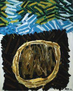 'Grass No.1' (1979) by Karel Appel