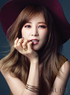 Park Cho Rong - SURE Magazine October Issue '15