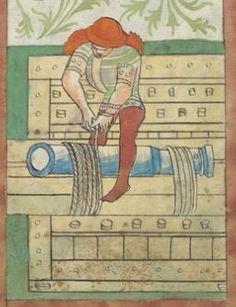 Kriegstechnik (Bilderhandschrift) Oberrhein · um 1420-1440 Ms. Rh. hist. 33b  Folio 71r