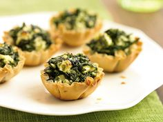 Spanakopita Bites and other Light Bites For Holiday Gatherings | TheNest.com