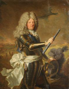 Louis de France, dit le Grand Dauphin (1661-1711), 1688 by Hyacinthe Rigaud (1659-1743)