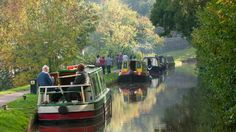 Monmouthshire and Brecon Canal, Wales. Hire a traditional canal boat and chug along the peaceful Brecon and Monmouthshire Canal. An ideal way to unwind and watch the world go by.