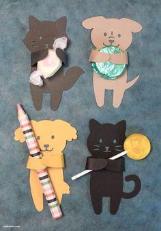 Moldes de Animais para Lembrancinha Infantil | Espaço Infantil